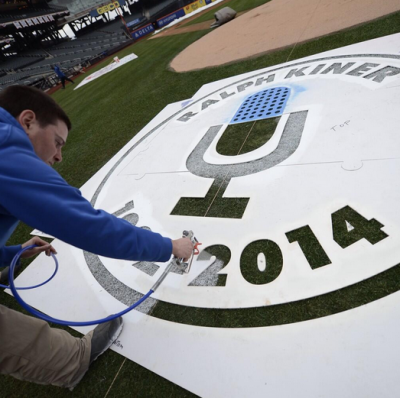 citi field opening day 2014 kiner