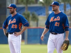 Davis and Duda Play in Minor League Game