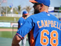 Mets Farm Report: Campbell's Blast Seals Victory For Las Vegas