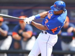 Granderson Flexes Some Muscle, Blasts Two Homers