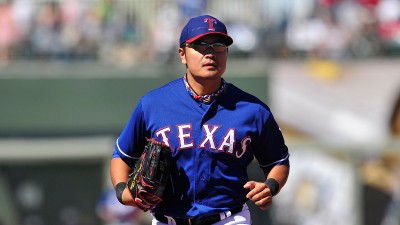 MLB: Spring Training-Los Angeles Dodgers at Texas Rangers