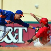 It's Official, Wilmer Flores Will Join Mets Friday