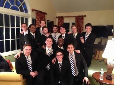 Gentlemen of the Hall group photo