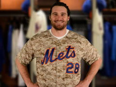 Mets Will Wear Camo Jerseys For Military Monday