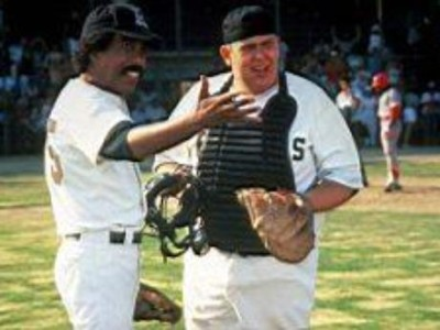 """Hey that's not the pitching coach, that's Petey!"""
