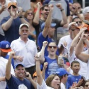 Mets fans happy