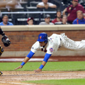 Lagares' Head First Slide Didn't Sit Well With Collins