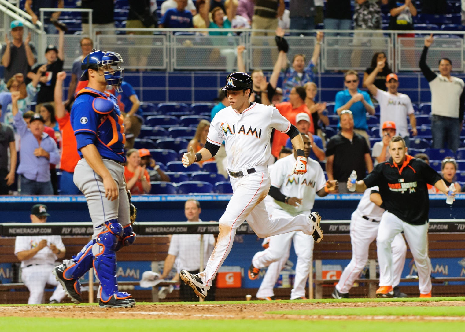 marlins win recker