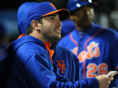 Mets Halt Matt Harvey's First Mound Session, Want Him To Slow Down