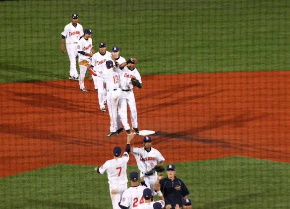 The Cyclones picked up the win on Opening Day. (Photo by Jim Mancari)