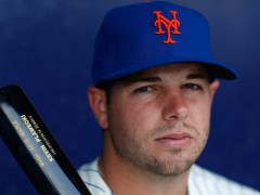 Plawecki Homers In Vegas Debut