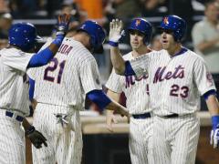 """Teagarden Has """"Grand"""" Mets Debut"""