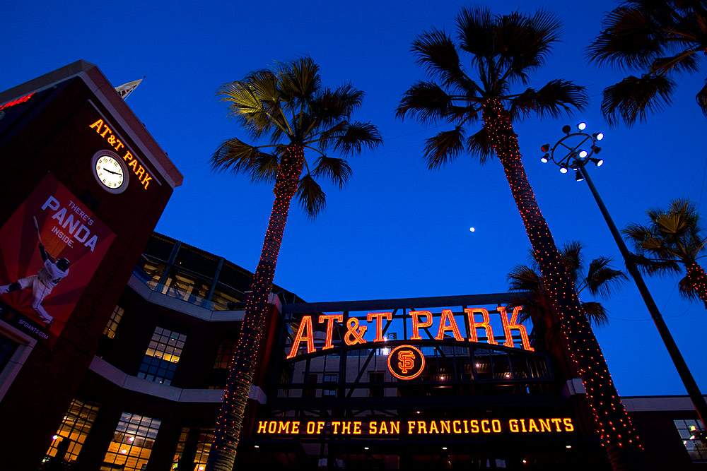 at&t park giants