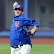 Matt Harvey To Pitch Off Mound For First Time Next Week