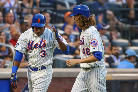 curtis granderson jacob degrom