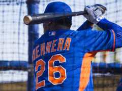 Herrera Drives In Four, Scores Two, Now Batting .346