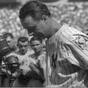 MLB First Basemen Reenact Lou Gehrig Farewell Speech