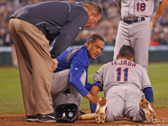Tejada Passes Concussion Tests, Collins Says He Should Be Fine