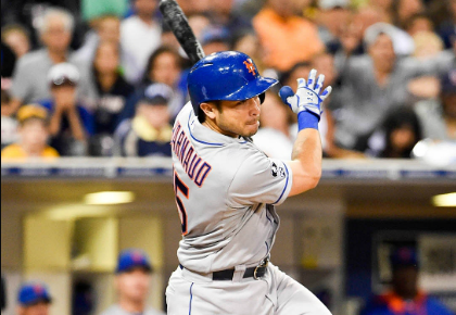 Alderson On d'Arnaud To Left Field: No Chance, Never Discussed