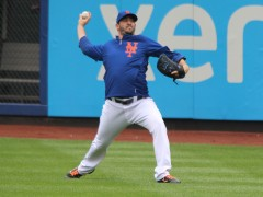 Matt Harvey Throws Side Session