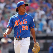 Jenrry Mejia Heading to New York for MRI on Right Elbow