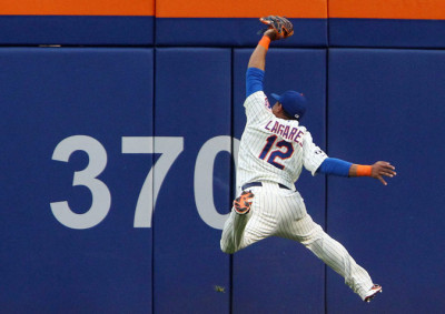 juan lagares catch