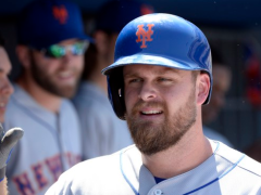 Lucas Duda's Career Day Leads Mets Past Dodgers