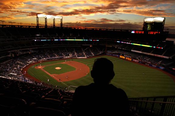 silhouette fans citi field