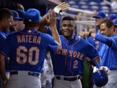 Dilson Herrera Homers and Triples As Impressive Debut Continues