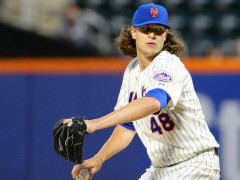Jacob deGrom Named NL Rookie of the Year!