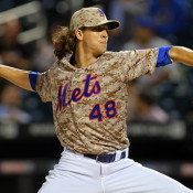 Armed and Dangerous: DeGrom Was Chasing Strikeouts Last Night