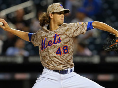 DeGrom Named Rookie of the Month For September