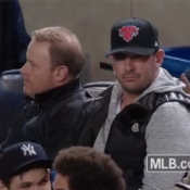 Matt Harvey At Yankee Stadium Paying His RE2PECT To Derek Jeter