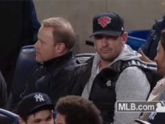 Matt Harvey At Yankee Stadium Paying His RE2PECT To Derek Jeter