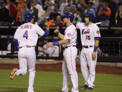 MMO Game Recap: Mets 9, Marlins 1 (Hail Flores!)