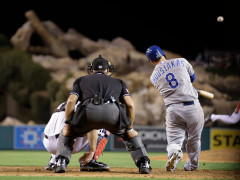 Former Mets Bat Boy Moustakas Tearing It Up In Playoffs