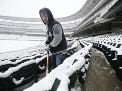 Minnesota Snow Storms and New York Media Maelstroms