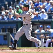 Athletics Trade Brandon Moss to the Indians