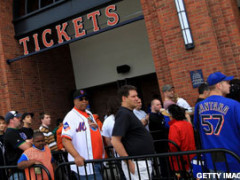 Mets Tickets Sales Are Up 19 Percent Over Last Year