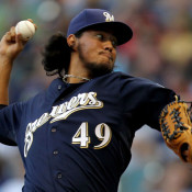 Brewers Deal RHP Yovani Gallardo To Rangers