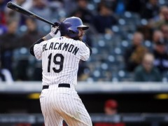 Rockies Shopping Charlie Blackmon