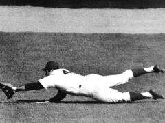 Ron Swoboda Makes The Catch