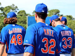 Mets Set Rotation For Their Division Title Push