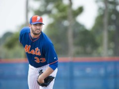 Matt Harvey Arrives To Camp, Open To Extension