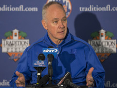 Sandy Alderson Spoke With Reporters At Tradition Field