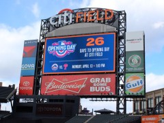 New Citi Field Scoreboard Is Real and It's Spectacular