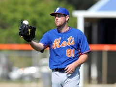 Mets Option Jack Leathersich Back To Las Vegas