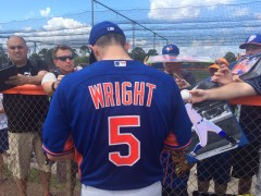"Wright Cautions Mets To ""Stay Hungry"""