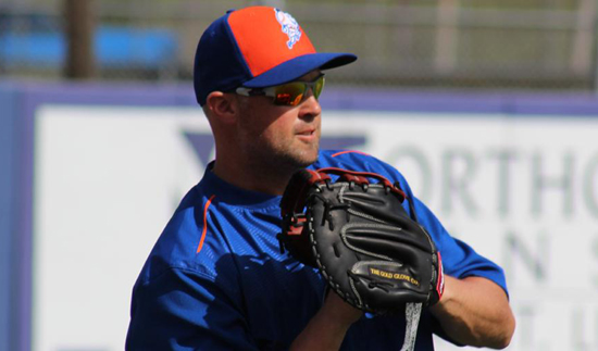 Mets LF Cuddyer hit on left hand by pitch; X-rays negative