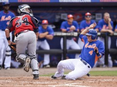 Wilmer Flores Blasts 3-Run Homer As Mets Rout Braves 13-2